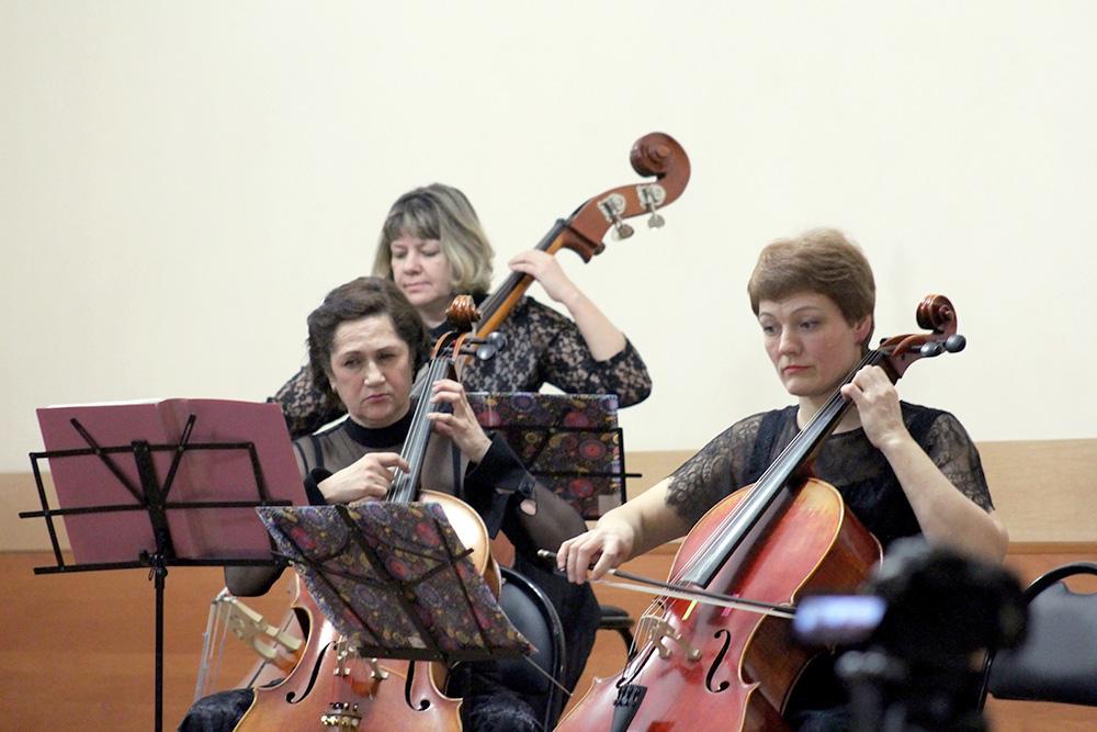 Концерт отделения «Оркестровые струнные инструменты»