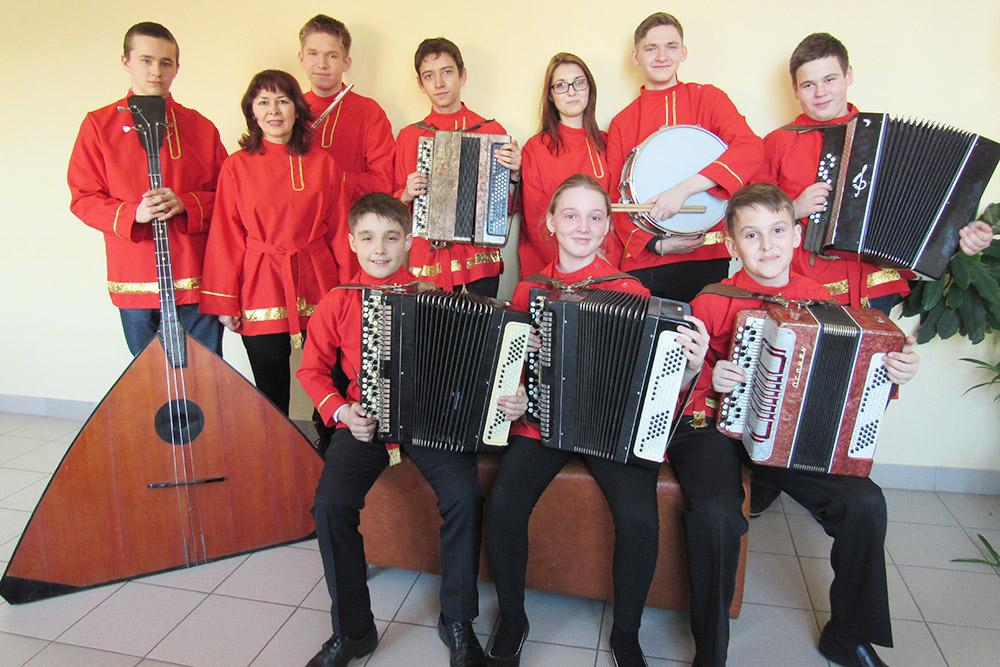 Оркестр баянов — желанный гость концертов и праздников