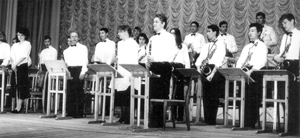 Духовой оркестр Братского музыкального училища