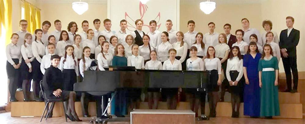 Сводный хор Братского музыкального училища