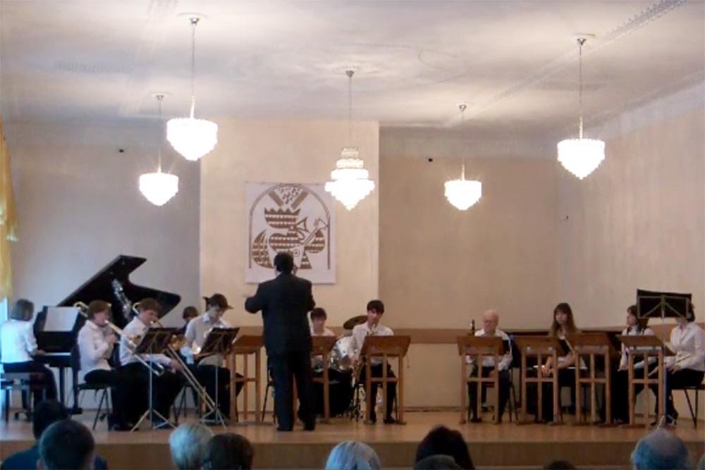 Предновогодний концерт эстрадного оркестра